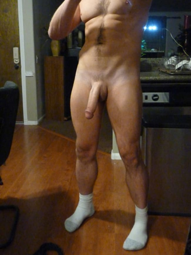 Fully Shaved Long Dick