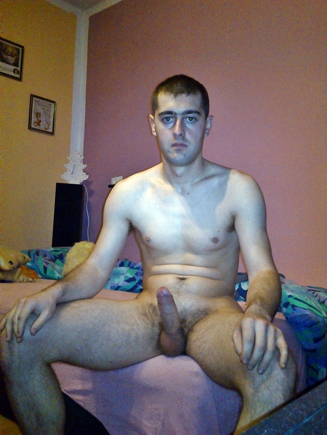 Sitting Boy's Dick